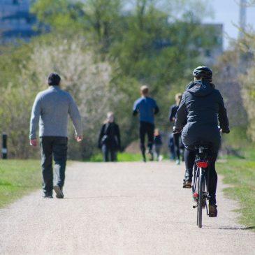 Mit dem Fahrrad durch Graz