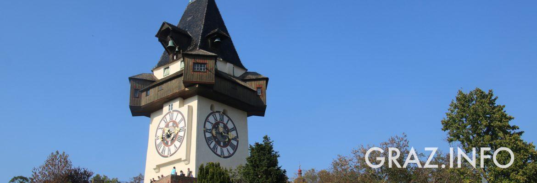 Titelbild: Uhrturm Graz
