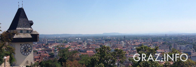 Titelbild: Schlossberg Graz